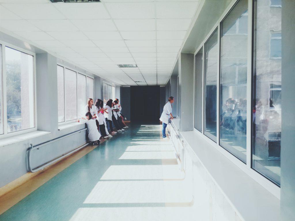 Couleur d'un hôpital